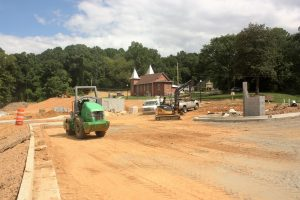 Construction at Logan Farm Park