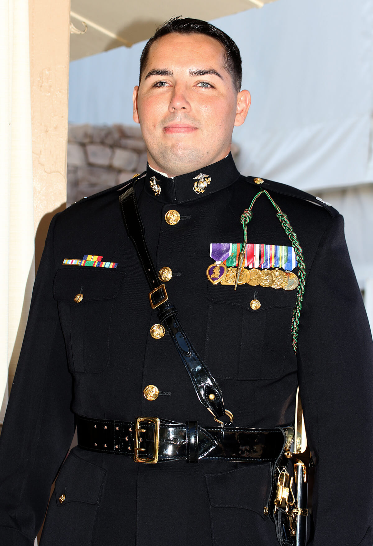 Lt. Cameron West served in the 3rd Battalion, 5th Marine Regiment out of Camp Pendleton in Southern California.