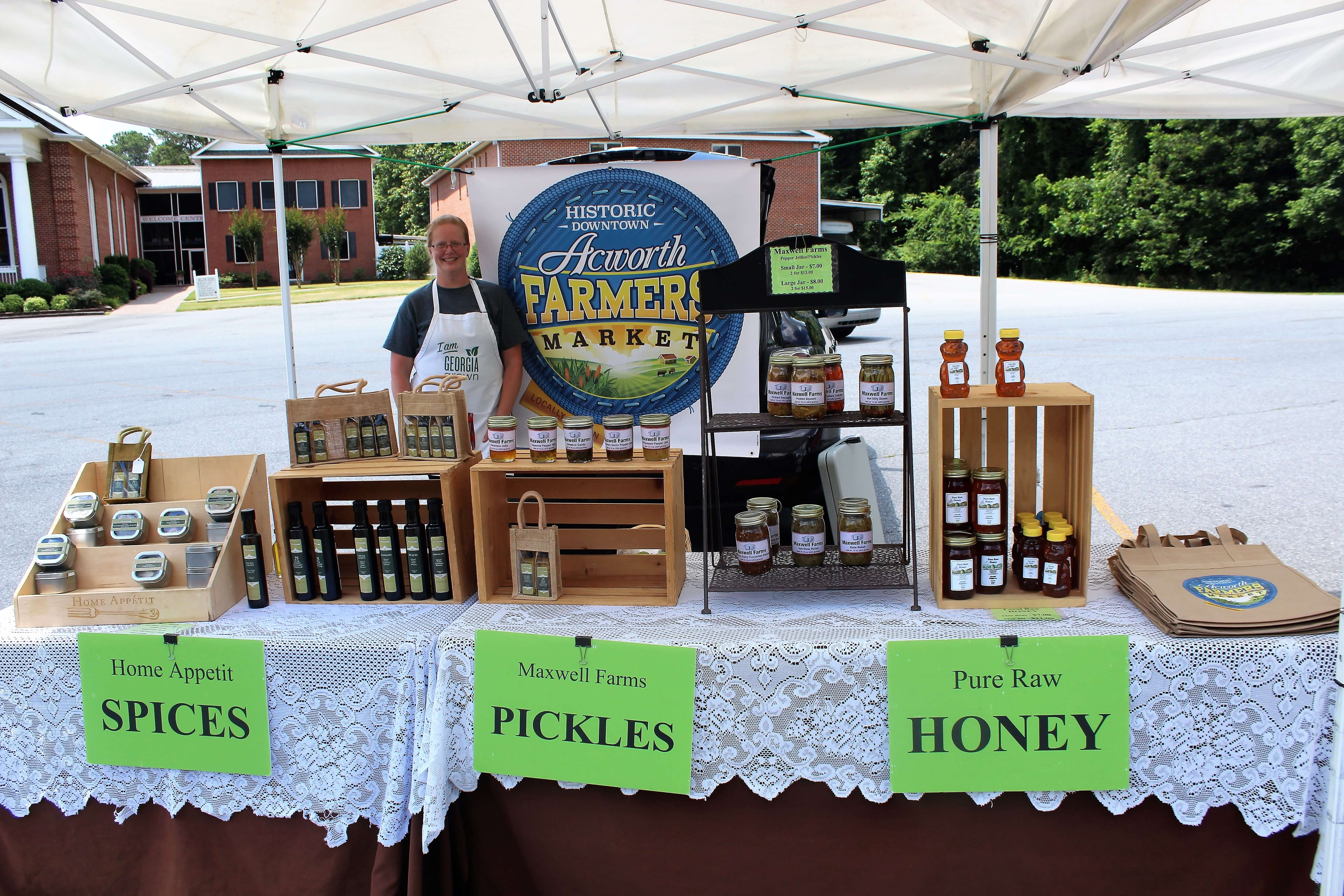 Acworth Farmers Market Offers Farm Goods and Much More