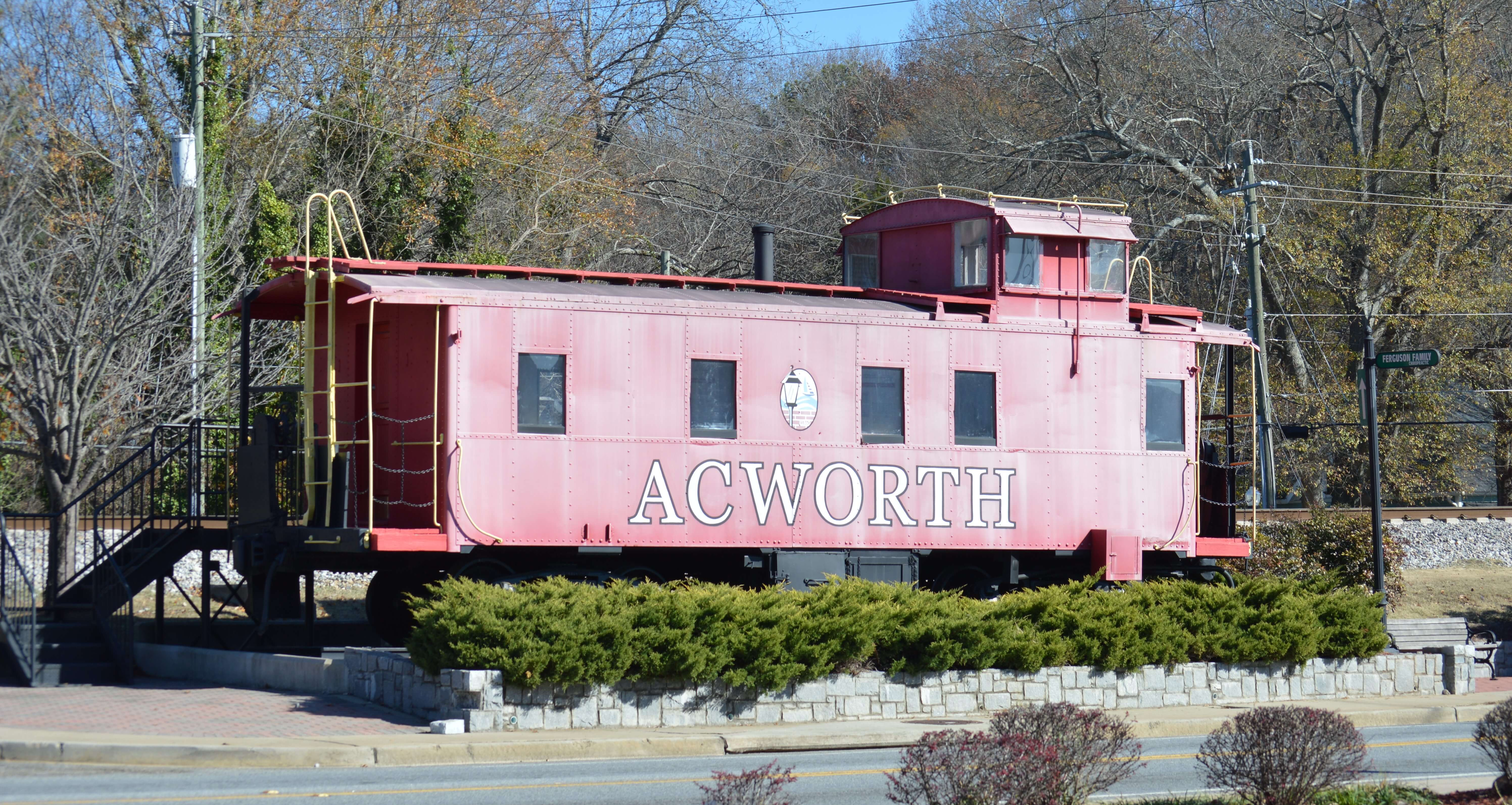 New Depot Park Will House Acworth History