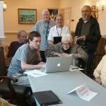 Student Shares IT Skills with Senior Adults