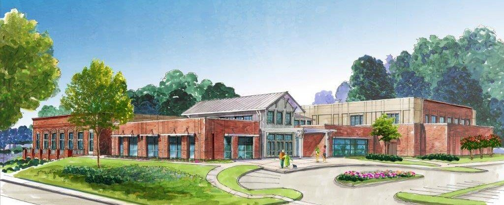 Around Acworth Community Center Rendering