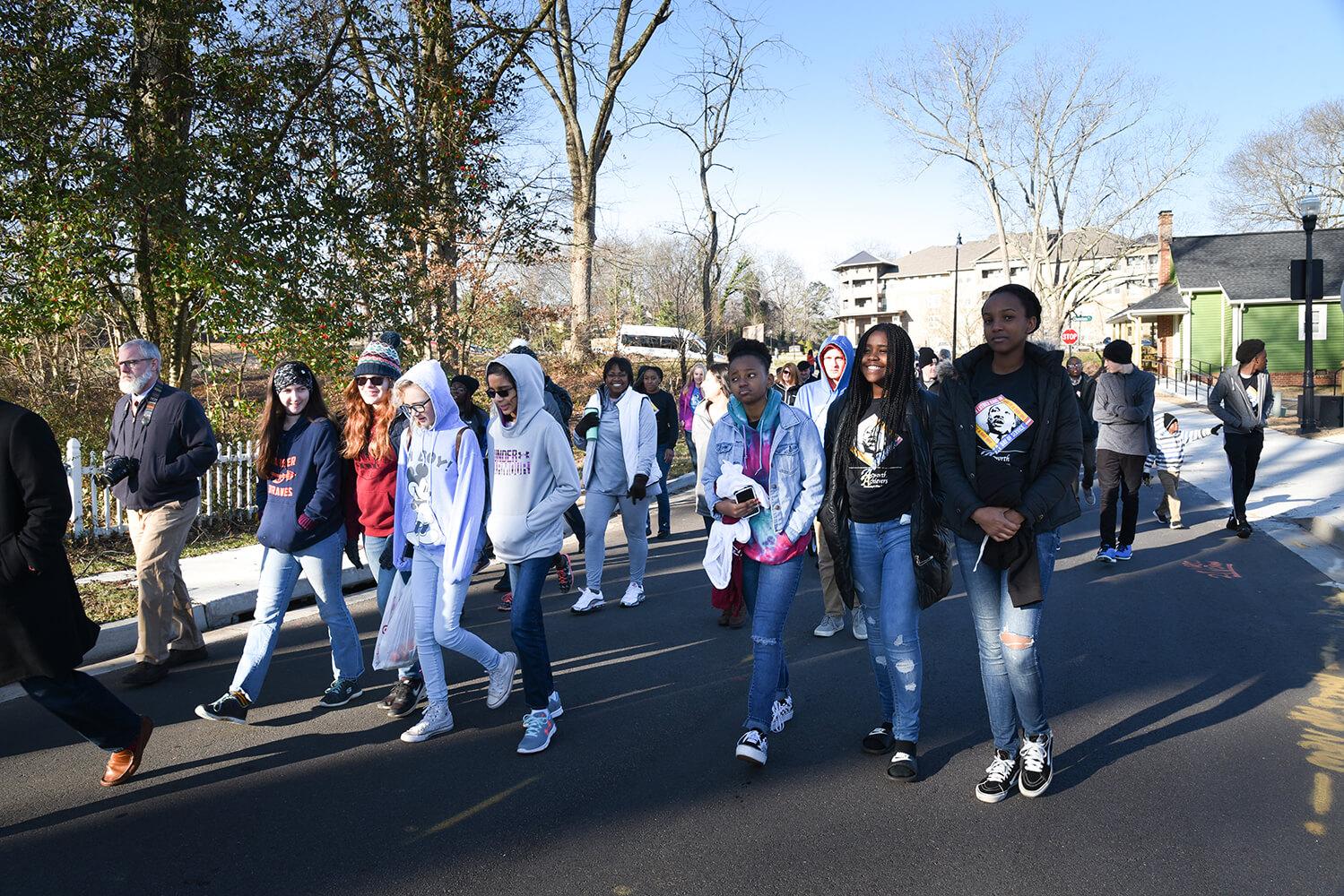 Acworth Celebrates MLK and Unity