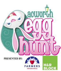 Acworth Easter Egg HuntL 2018 Around Acworth