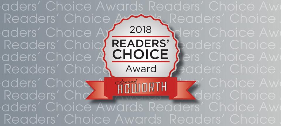 2018 Around Acworth Readers' Choice Winners