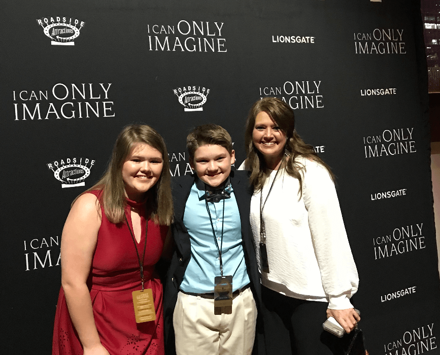 Brody Rose red carpet Around Acworth