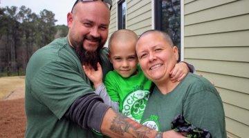 Kindergartner Works to Help Children With Cancer