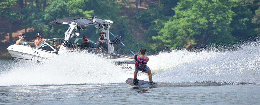 Nip Rapa won the competition. wakeboard around acworth