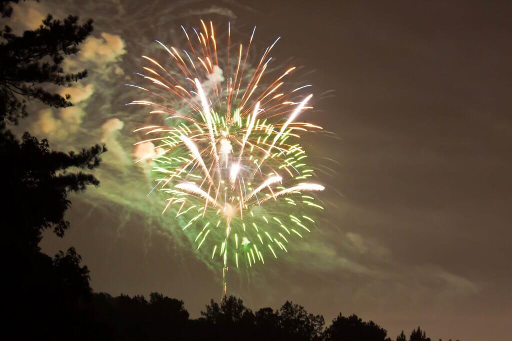 Around Acworth fireworks Darleen Prem