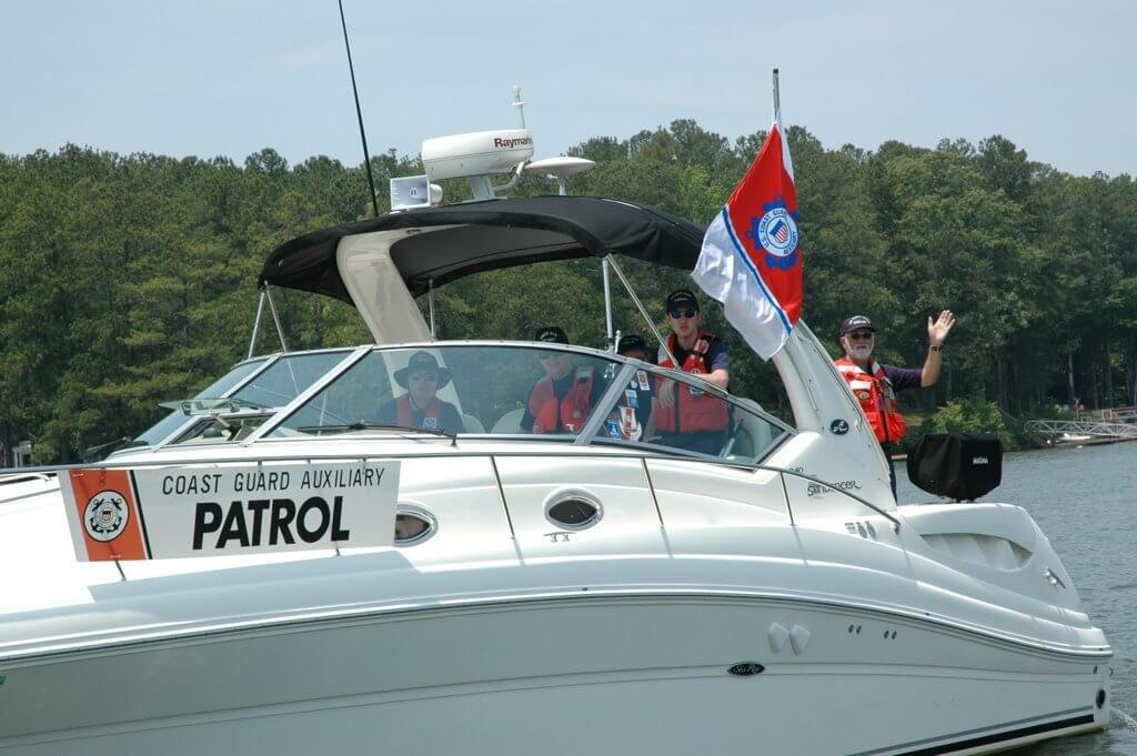 U.S. Coast Guard Auxiliary Flotilla 22 60th Anniversary Around Acworth