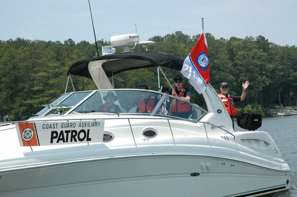 Patrol, Protect and Educate - Coast Guard Auxiliary celebrates 60 years on Allatoona.