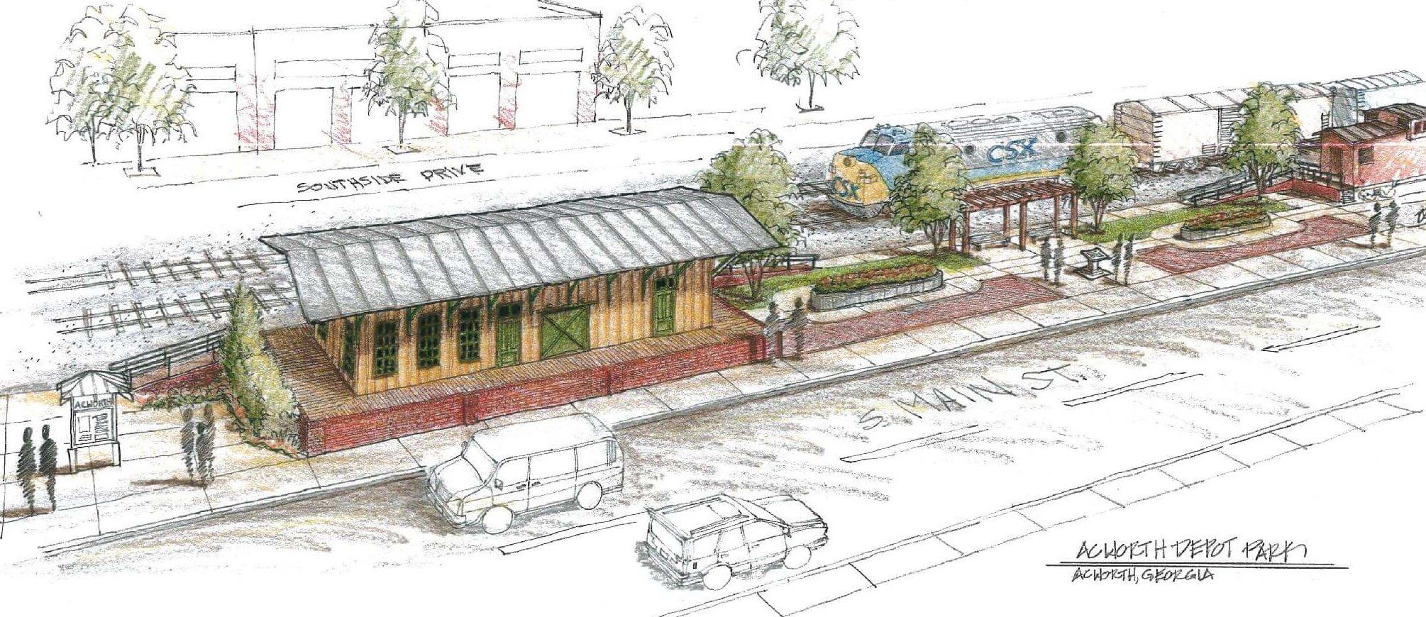Work Begins on Depot Park History Center
