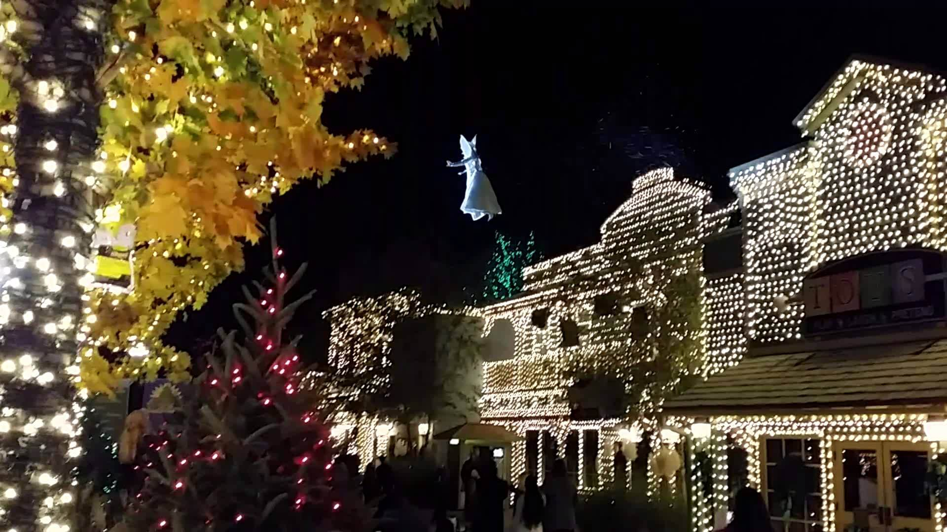 Stone Mountain christmas lights around acworth