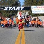 Turkey chase around acworth
