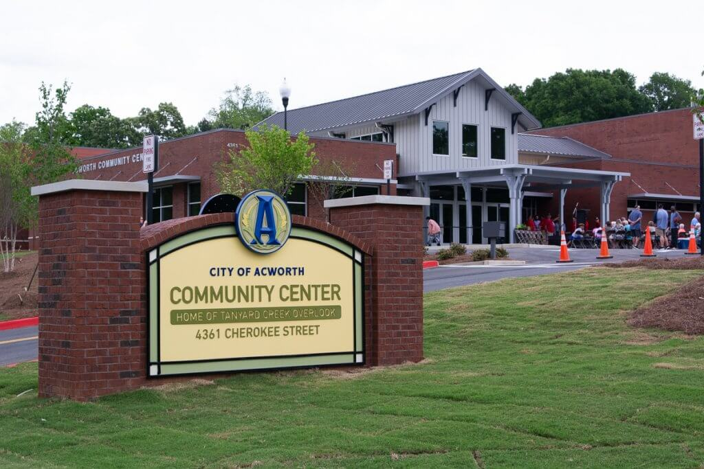 Community Center around acworth