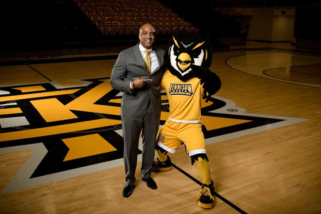 Coach Amir Abdur-Rahim KSU Basketball Around Acworth