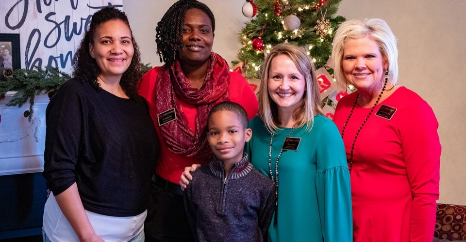 Local Family Surprised With a Home for the Holidays
