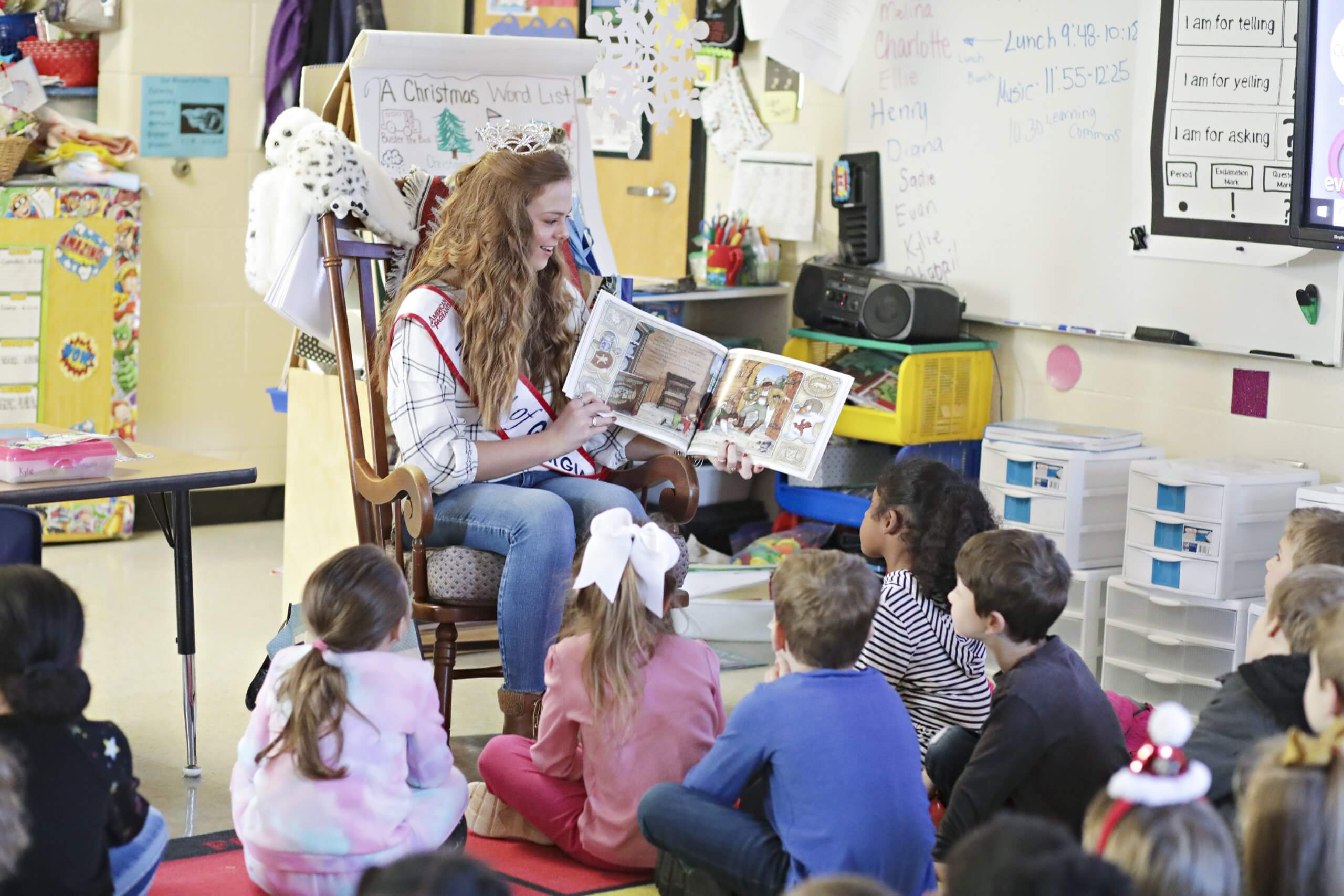 Encouraging Children,  One Book at a Time