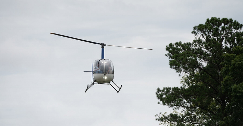 92-Year-Old Veteran  Lands Helicopter